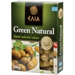 Зелени маслини Elia с костилка вакуум 500g