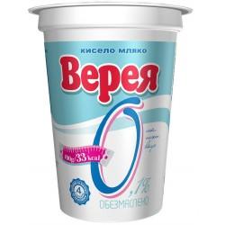 Кисело мляко Верея 0.1% 400g