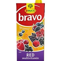 Напитка BRAVO Червен мултивитамин 50% 2l