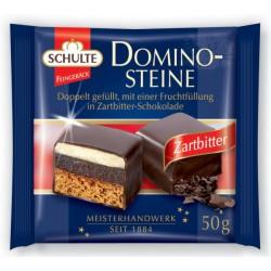 Шоколадови бонбони SCHULTE Dominosteine тъмен шоколад 50g