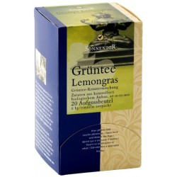 Зелен чай Лимонова трева Sonnentor