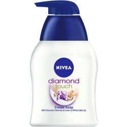 Течен сапун Nivea Diamond Touch 250ml
