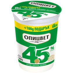 КИСЕЛО МЛЯКО 4,5% ОПИЦВЕТ 400g