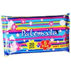 Влажни кърпички Palomita 25бр.