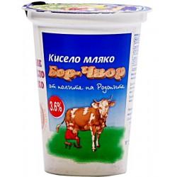 Кисело мляко Бор чвор 3,6% 400g