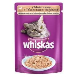 Храна за котки Whiskas Pouch 100g Телешко месо