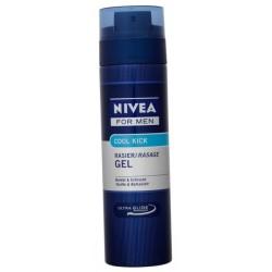 Гел за бръснене Nivea Cool Kick 200g