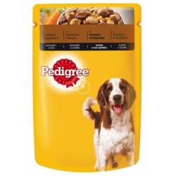 Храна за кучета Pedigree Pouch 100g Пуешко и моркови