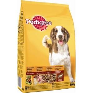 Суха храна за кучета Pedigree птиче месо и зеленчуци 500g