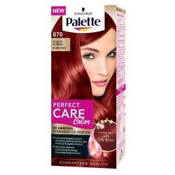 Безамонячна боя за коса 678 Рубиненочервен PALETTE Perfect Care Color