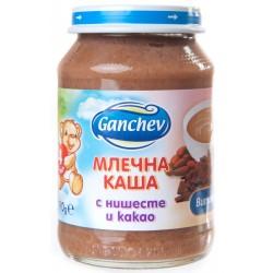 Ганчев млечна каша с нишесте и какао 190g