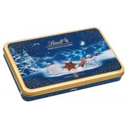 Lindt Коледно чудо бонбониера 200g метална кутия