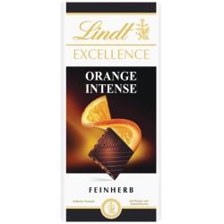 Шоколад Lindt Екселенс Портокал Интенз 100g