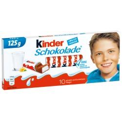 KINDER Шоколад 10 блокчета 125g
