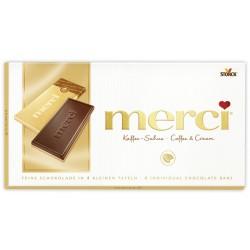Шоколад MERCI Кафе и сметана 100g