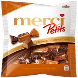 Шоколадови бонбони MERCI PETITS НУГА И СМЕТАНА 125g