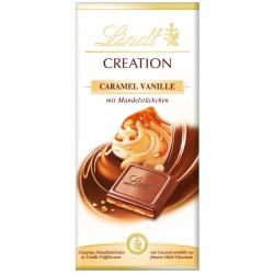 Шоколад LINDT CREATION Карамел и ванилия 150g