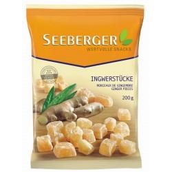 Джинджифил сушен парчета Seeberger 200g