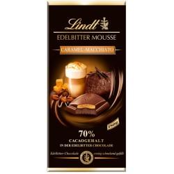 Шоколад LINDT EDELBITTER MOUSSE Карамел макиато 150g