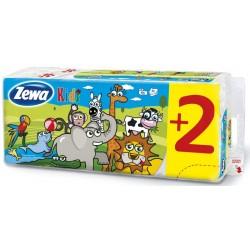 Тоалетна хартия Zewa Deluxe Kids 3пл. 8+2 бр.