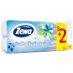 Тоалетна хартия ZEWA Deluxe Limited Edition 3пл. 8+2бр.