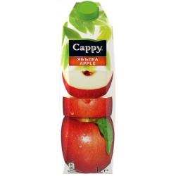 Напитка Cappy червена ябълка 50% 1l