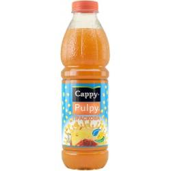 Напитка Cappy Pulpy Праскова 1l