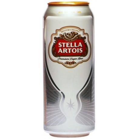 Бира Стела Артоа кен 0,500