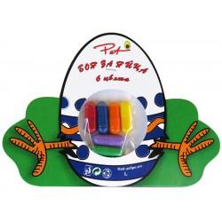Боя за яйца 6 цвята Капсули Pet