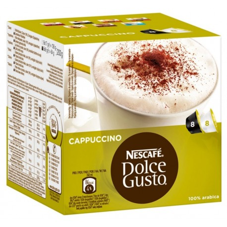 Кафе NESCAFE Dolce Gusto Cappuccino 16 x12,5g