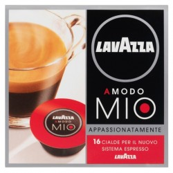 КАФЕ капсули LAVAZZA a Мodo MIO - Appassionatamente Dark Coffee Espresso 16бр.
