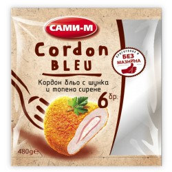 КОРДОН БЛЬО САМИ-М ПИЛЕШKO замразено 480g