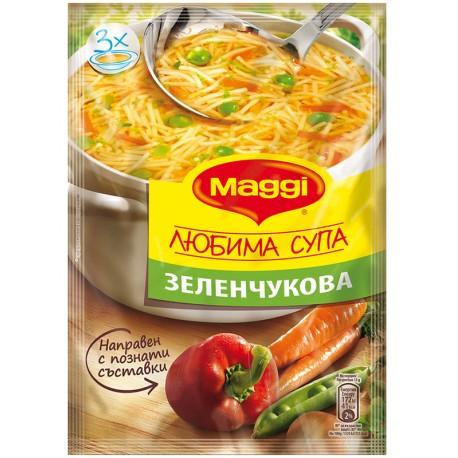 Любима супа Зеленчукова Maggi 40g