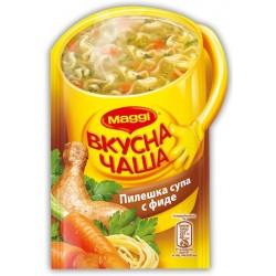 Инстантна супа Пиле с фиде Maggi 14g