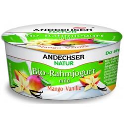Био кисело мляко с манго-ванилия 10 % 150g Andechser