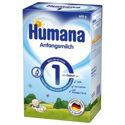 Адаптирано мляко Humana 1 600g