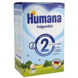 Адаптирано мляко Humana 2 600g