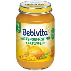 Бебивита пюре градински зеленчуци с картофи 190g