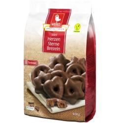 Мини шоко меденки WEISS с тъмен шоколад 400g