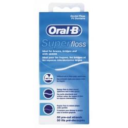 Конци за зъби Oral-B Super floss 50м