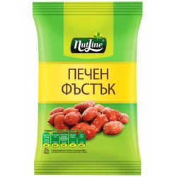 NUTLINE ЧИПИ ПЕЧЕН ФЪСТЪК 80g