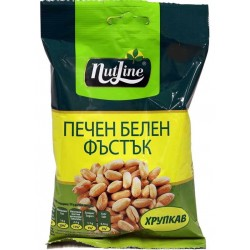 NUTLINE ЧИПИ ПЕЧЕН БЕЛЕН ФЪСТЪК 80g