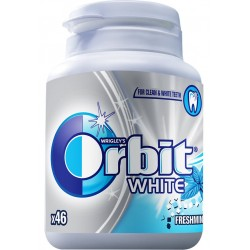 Дъвки Orbit White freshmint флакон 46бр.