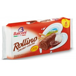 Мини рула Шоколад BALCONI 222g