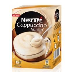 Nescafe Капучино Ванилия 10x13g
