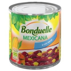 Червен фасул с царевица в сос чили Мексикана Бондюел 425 ml