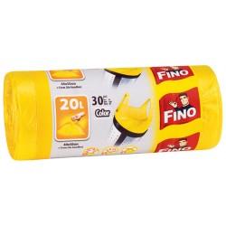 Торби за смет Fino цветни 30бр. с дръжки 20l