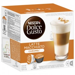 Кафе NESCAFE Dolce Gusto Latte Macchiato Карамел 168g