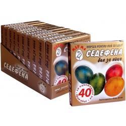 Седефена боя за яйца 5 цвята