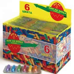 Боя за яйца 6 цвята Капсули Метма